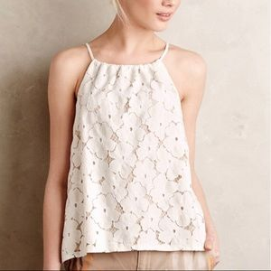 Anthropologie Liv Los Angeles Lace Tank